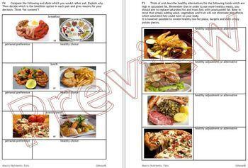 Cooking: Macro Nutrients Fats
