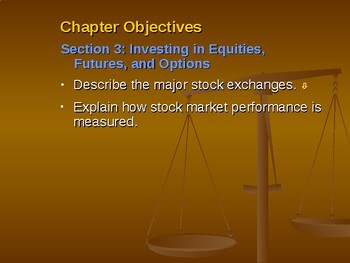 Macroeconomic Institutions: Investing in Equities, Futures, and Options