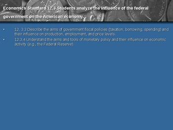 Macroeconomic Institutions: The Economics of Government Spending