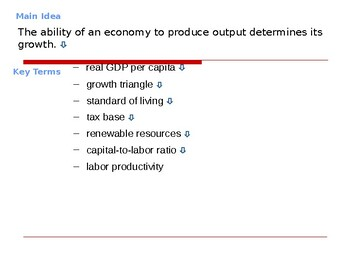 Macroeconomic Policies: Economic Growth