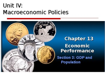 Macroeconomic Policies: GDP and Population