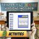 Macroeconomics - Aggregate Supply and Demand Unit Activity Bundle