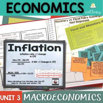 Macroeconomics Complete Unit Bundle