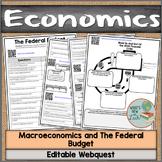 Macroeconomics Federal Budget Webquest