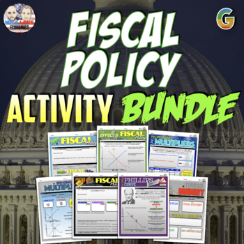 Macroeconomics - Fiscal Policy Unit Activity Bundle