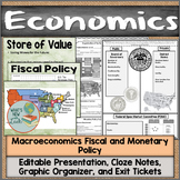 Macroeconomics Fiscal and Monetary Policy Notes, Presentat