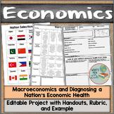 Macroeconomics Project Diagnose a Nation's Economic Health