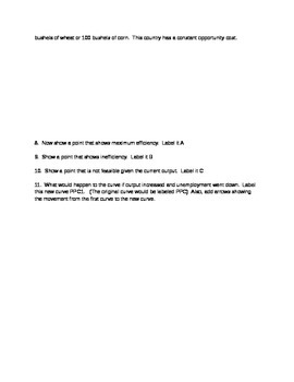Macroeconomics Quiz for Unit 1