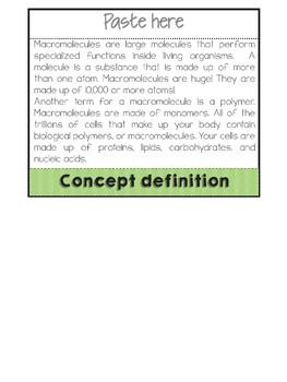 Macromolecules- Biochemistry of Life flipbook