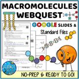 Macromolecules Webquest (Biomolecules, Organic Compounds)