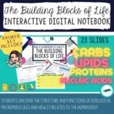 Macromolecules: Building Blocks of Life Interactive Digita