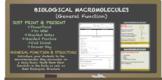 Macromolecules - General Overview