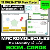 Macromolecules / Biochemistry Task Cards - Chemistry of Li