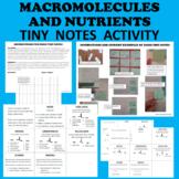 Macromolecules & Nutrients, Cells, Water, Proteins, Lipids