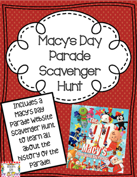 Macy's Day Parade Scavenger Hunt