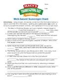 Macy's Thanksgiving Day Parade Web-Based Scavenger Hunt