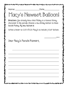 Macy's Thanksgiving Day_CCSS aligned