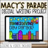Macys Thanksgiving Day Parade Google Slides Writing Templa