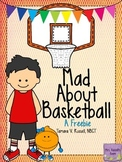 Mad About Basketball: ELA & Math Printables {FREEBIE}