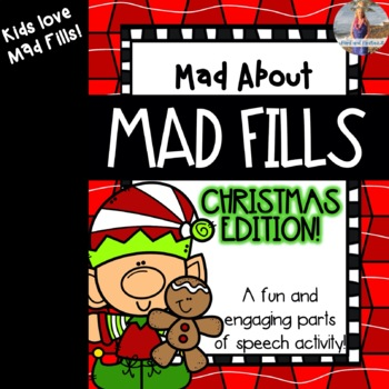 Mad About Mad Libs: Christmas Edition {Parts of Speech Activity}