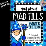 Mad About Mad Libs: Winter Edition {Parts of Speech Activity}