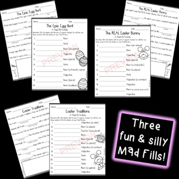 Mad About Mad Libs: Easter Edition {Parts of Speech Activity}