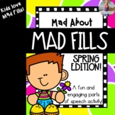 Mad About Mad Fills: Spring Edition {Parts of Speech Activ