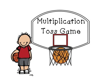 Mad About March Multiplication Toss Math Game