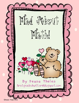 Mad About Math Valentine Activities for the Common Core Classroom