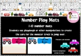 Mad About Maths - Monster Truck Number Play Mats