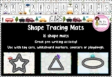 Mad About Maths - Shape Tracing Mats (Cars)