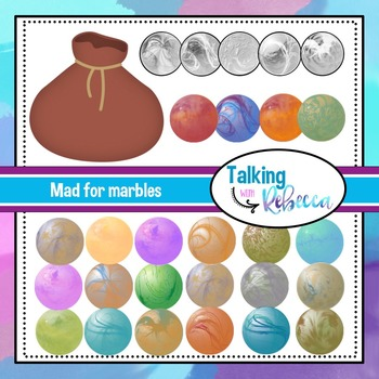 Mad For Marbles Clip art