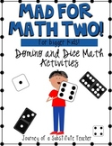 Mad For Math 2 {for Bigger Kids!}: Dice and Domino Activities