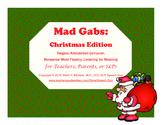 Mad Gabs: Christmas Edition