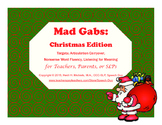 Mad Gabs: Christmas Edition