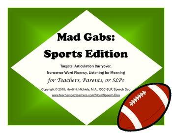 Mad Gabs: Sports Edition
