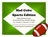 Mad Gabs: Sports Edition