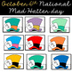 Mad Hatter Day Hat (Editable)