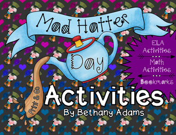 Mad Hatter Day **Print & Go** Activities