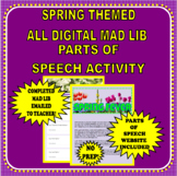 Mad Lib Spring Fever - (Digital and may be used with Googl