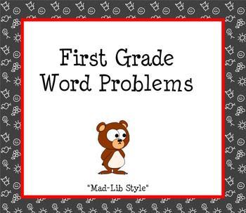 Mad Lib Word Problems Smartboard Slides