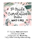 Mad Libs: 7th Grade Cumulative Review