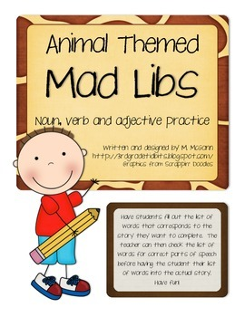 Mad Libs - Animals
