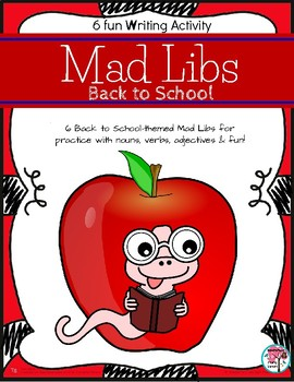 Mad Libs Back to School