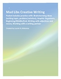 Mad Libs Creative Writing