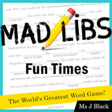 Mad Libs: Fun Times (pack of 4)
