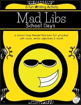 Mad Libs School Days