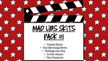 Mad Libs Skit Pack #1