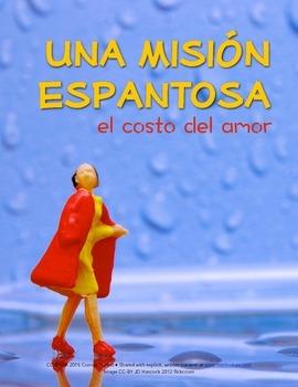 Mad Libs activity in Spanish: Una misión espantosa