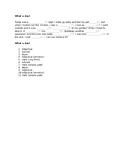 Mad Libs for Beginner-Intermediate TEFL EFL Gap Filler